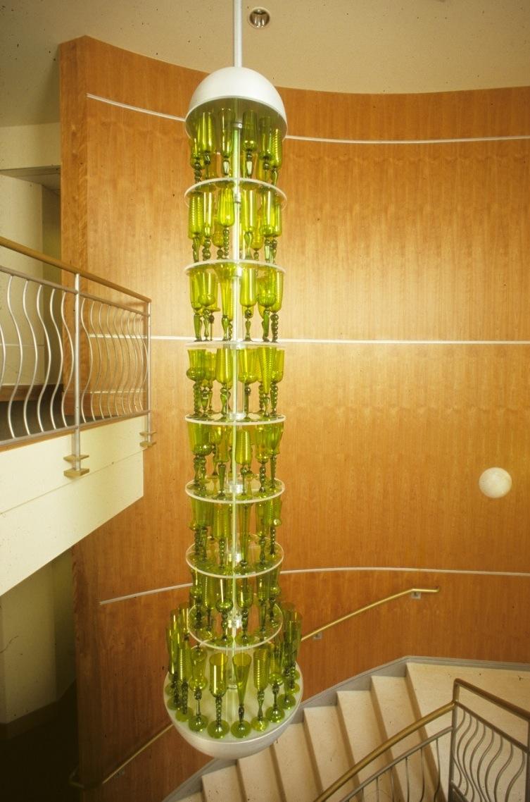 Green Wine Chandelier-WEB